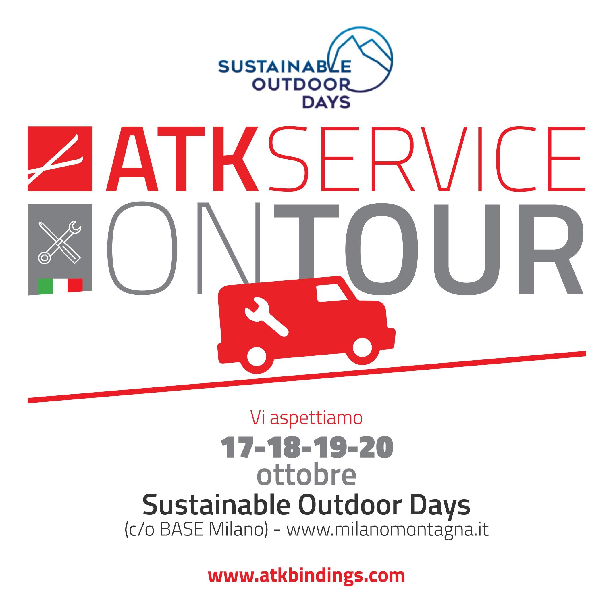 "ARRIVA A MILANO L' ""ATK SERVICE ON TOUR """
